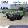 Powerful! Working with Air Compressor! Hf150y Crawler DTH Drill Rig