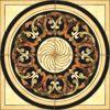 Flower Pattern Carpet Tile Polished Crystal Ceramic Floor Tile 1200X1200mm (BMP19)