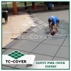 Green Winter Mesh Pool Cover