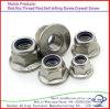 DIN6923 Hex Flange Nut Galvanized in Carbon Steel