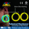 Glow Stick Hoop Earrings for Party Toy Holiday Glowstick