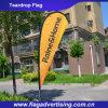 2016 Wholesale Portable Advertising Freestanding Bowhead Teardrop Flag Display