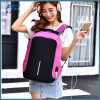 Smart Waterproof Laptop Anti Theft Backpack with USB Charging Port