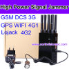 8 Antenna High Power GPS Signal Jammer