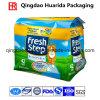 Flat Bottom Gusset Plastic Packaging Bag for Cat Litter