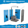 Folding Plastic Panel Event Mobile Toilet Temporary Use