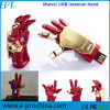 Customized Iron Man Shape Memory Disk USB Flash Drive (ED111)