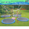 Outdoor New Design Oblong Trampoline Mini Trampoline (A-17904)