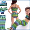 Lovely Three Piece Kids Swim Wear Bikini
