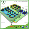 Latest Square Kids Trampoline Arena with Basketabll