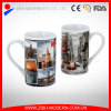 Flared Cylinder Shape Coffee Cup with New York Design