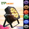 Stage Lighting 18PCS 18W Argbwuv 6in1 Flat LED PAR