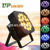 Stage Lighting 18PCS 18W Argbwuv 6in1 Flat LED PAR