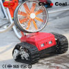 Remote Control Battery Driven Operated Smoke Evacuation Robot Ym40 for Fire-Fighting