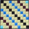 Mirror Diamond Mosaic Pattern (HD052)