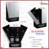 V Shape Wood Wine Box (2401R8)