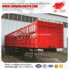 24 Tons Axle Load Rail Box Grid Truck Semi Trailer