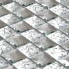 Diamond Mosaic Tile Mirror Mosaic (HD049)