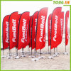 Feather Flag Advertising Polyester Flying Beach Banner Flag (TJ-05)