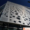 8mm Diameter Round Holes Punched / Perforated Aluminum Panels