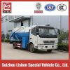 Small Mini Suction Sewage Truck 120 HP Fecal Sewage Truck Exort to Africa