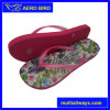 Beautiful Flower Print Fanshion Girls Flip Flop