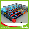 Kids Indoor Trampoline with Castle Themed Playground