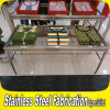 Custom Made Cloth Stainless Steel Display Table Rack