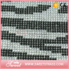 Hot Fix Resin Stone Zebra Trimming 24X40cm Rhinestone Mesh Sheet