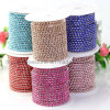 Fancy Rhinestone Chaton Banding Chain Crystal Banding Cup Chain (TCG- ss8 colors)