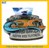 High Quality 3D Hard Enamel Medal for Half Marathon Finisher