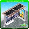 Solar Power Stainless Steel Bus Shelter
