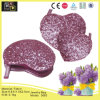 Purple Heart-Shaped Fashion Jewelry Box (3683)