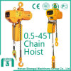 0.5-1-2-3-5-10-25-30-45 Ton Electric Chain Hoist with Hook Block