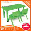 Durable Square Furniture Kids Plastic Table Chair for Sale