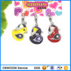 Wholesale Yellow Rubber Duck Enamel Metal Charm Pendant #14005