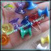 26mm Bulletin Board Colored Jambo Plastic Thumb Tacks Push Pins (P160718B)