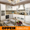 Hot Sale Euro High Gloss PVC Kitchen Cabinet (OP15-051)