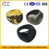 Custom Gold Silver Black Metal Finger Ring for Man