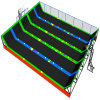 Hot Selling Trampoline Indoor Trampoline with Soft Play Ball Pool