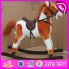 Wood Balance Rocking Horse, Popular Wooden Rocking Horse, Kids′ Wooden Rocking Horse Toy, Cheap Wooden Rocking Horse W16D069