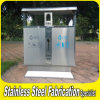 Keenhai Professional OEM Cheap Stainless Steel Park Trash Can