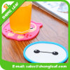 Customized Embossed Logo Soft Eco-Friendly Silicone Rubber Drink Mat