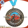 Custom Metal Medal / Medallion Design Your Own Logo with Ribbon