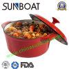 Kitchen Cookware Round Enamel Casserole/Enamel Cooking Pot