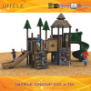 Resin Kids Children Outdoor Playground Equipment with Tunnel Slide
