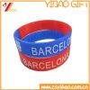 Custom Printed Logo Waterproof Silicon Bracelet/Wristband