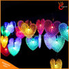 Heart Shaped Solar Powered 50LED String Light for Christmas Wedding