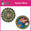 Custom Logo Round Embroidery Patch for Clothing