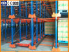 Warehouse Steel Shelving Radio Shuttle Racking Pallet Storage Racking